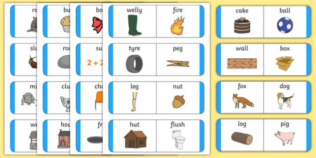 Rhyming Loop Cards - australia, Phonics, rhyming, language, literacy, listening, talking, loop cards
