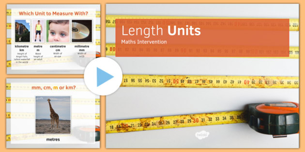 Maths Intervention Length Unit PowerPoint - SEN, special needs, intervention, maths, measure, length