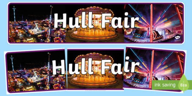 Hull Fair Photo Display Banner - hull fair, photo, display banner, display, banner, hull, fair