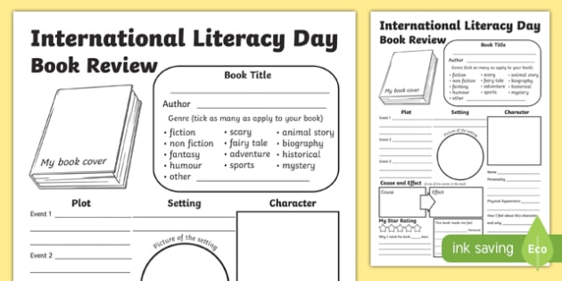 International Literacy Day Primary Resources - Organised Day Event