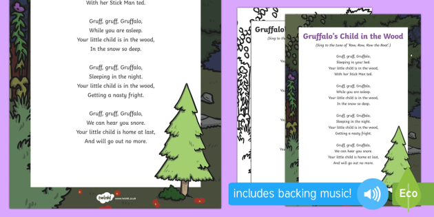 Gruffalo's Child in the Wood Song