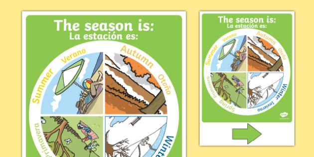 Season Display Chart Spanish Translation--translation
