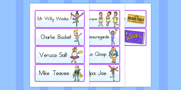 Word Cards to Support Teaching on Charlie and the Chocolate Factory - australia, charlie