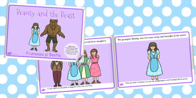 Beauty And The Beast eBook Romanian Translation - storybook