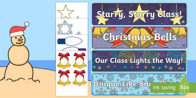Class Compliments for Christmas Display Pack-Australia