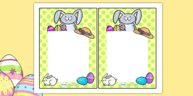 Easter Editable Notes - easter, Re, religion, note, teacher notes