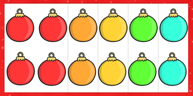 Editable Christmas Baubles -  Christmas, xmas, bauble, editable, tree, advent, nativity, santa, father christmas, Jesus, tree, stocking, present, activity, cracker, angel, snowman, advent , bauble