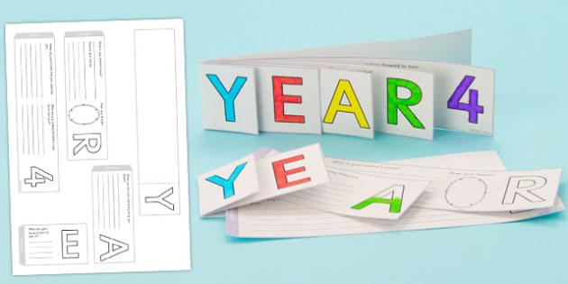 Year 4 Write Up Booklet - year 4, write up, booklet, write, up