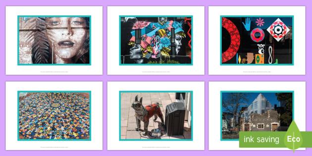 Christchurch Street Art Photo Pack - New Zealand , earthquake, Christchurch, Street Art