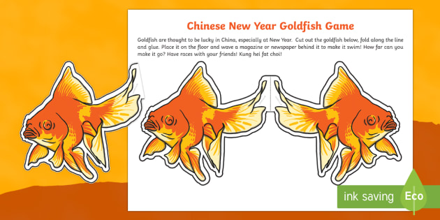 Chinese New Year Lucky Goldfish Game