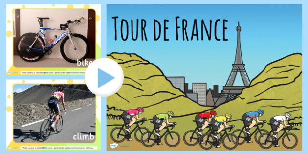 Tour de France Display Photo PowerPoint - le tour, photographs