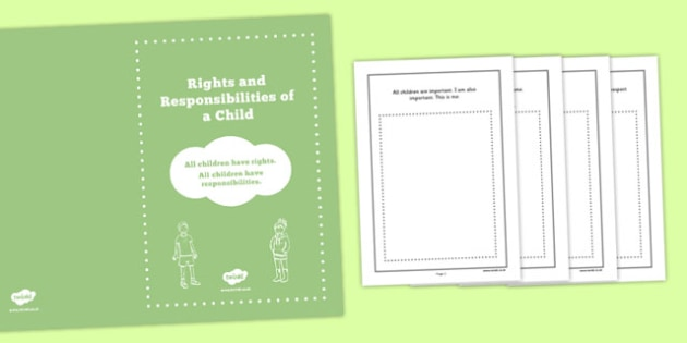 Rights of a Child Booklet - rights, child, booklet, ks2, phsce, pshe, rights of a child
