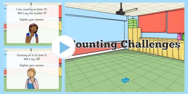 Counting Challenges PowerPoint