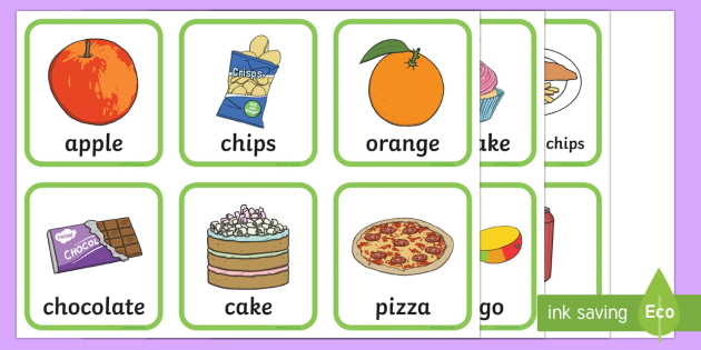 Healthy and Unhealthy Sorting Activity - health, food, order