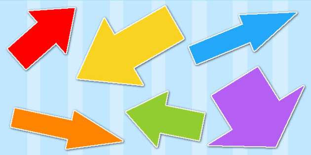 Directional Arrows Cut Outs Pack - directional arrows, directions, cut outs, cutouts, directional arrows pack, directions pack, resource pack, cutout arrow
