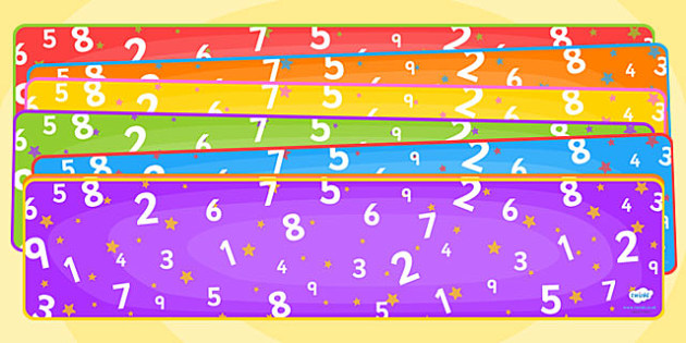 Editable Banner Number- editable, editable banner, number, display, banner, display banner, display header, themed banner, editable header, header