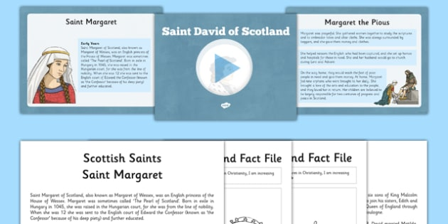 Scottish Saints Resource Pack - CfE, Religious and Moral Education, Second Level, Christianity, Saints, Scotland