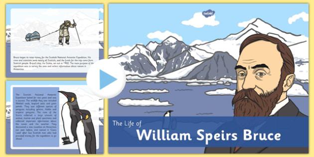 William Speirs Information PowerPoint - william speirs bruce, information, powerpoint