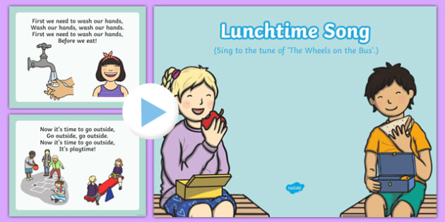 Lunchtime Song PowerPoint