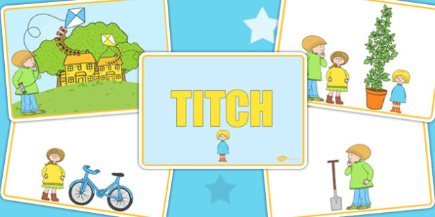 Story Sequencing to Support Teaching on Titch - stories, story, sequence, books, reading