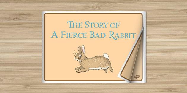 Beatrix Potter - The Story of a Fierce Bad Rabbit eBook - beatrix potter, fierce bad rabbit