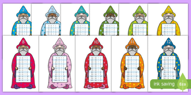 Magic Division Wizards - magic, division wizards, division, wizards, fantastic, magician, maths