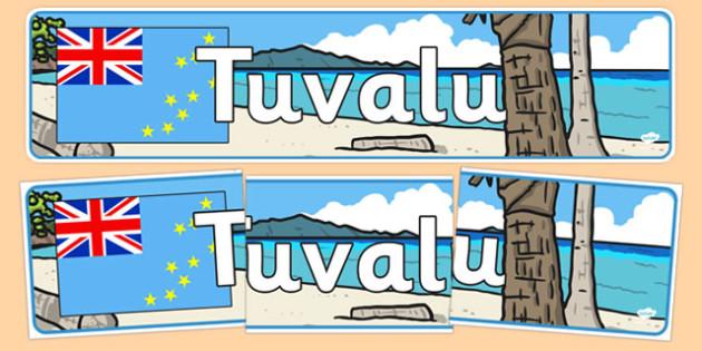Tuvalu Display Banner