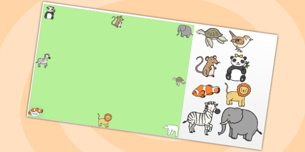 Animals Editable PowerPoint Background Template - animals, editable powerpoint, powerpoint, background template, themed powerpoint, animal themed