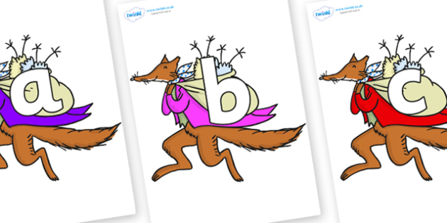 Phoneme Set on Mr Fox to Support Teaching on Fantastic Mr Fox - Phoneme set, phonemes, phoneme, Letters and Sounds, DfES, display, Phase 1, Phase 2, Phase 3, Phase 5, Foundation, Literacy