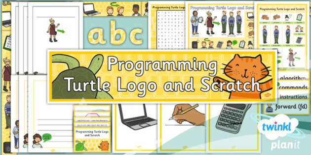 PlanIt - Computing Year 3 - Programming Turtle Logo and Scratch Unit Additional Resources