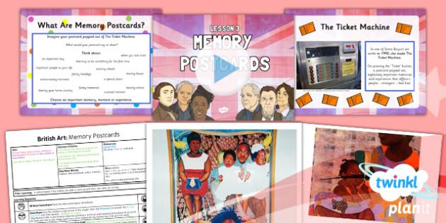 PlanIt - Art LKS2 - British Art Lesson 3: Memory Postcards Lesson Pack