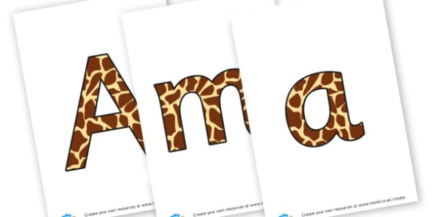 amazing africa - display lettering - Africa Display Primary Resources, continent, east africa