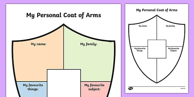 Personal Shield Transition Writing Frame - writing frame, personal shield, personal shield writing frame, transition writing frame, writing template