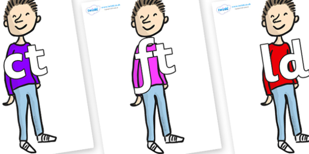 Final Letter Blends on Michael to Support Teaching on Matilda - Final Letters, final letter, letter blend, letter blends, consonant, consonants, digraph, trigraph, literacy, alphabet, letters, foundation stage literacy