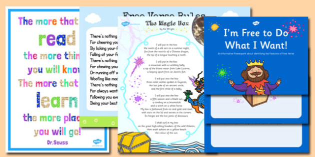 Different Types of Poetry Poster Pack - poetry, poster, pack