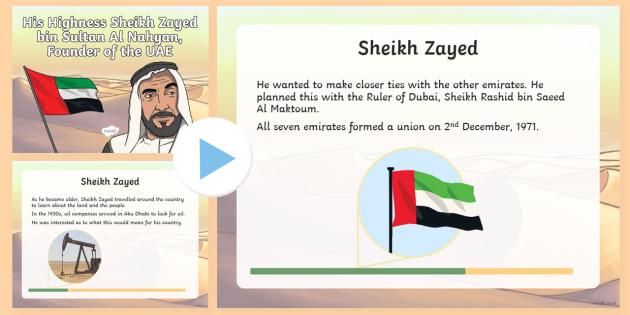 Sheikh Zayed PowerPoint
