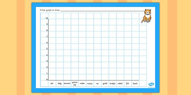 Class Pets Bar Graph Template - class pets bar graph template, class pets, pets, animal, pet, graph, template, how many, dog, cat, bar, bar graph, animal