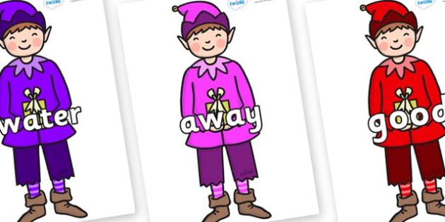 Next 200 Common Words on Boy Elves (Multicolour) - Next 200 Common Words on  - DfES Letters and Sounds, Letters and Sounds, Letters and sounds words, Common words, 200 common words