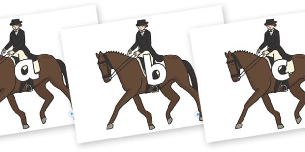 Phase 2 Phonemes on Equestrian (Horses) - Phonemes, phoneme, Phase 2, Phase two, Foundation, Literacy, Letters and Sounds, DfES, display