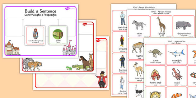 Question Word Activity Pack Romanian Translation - romanian, question, word, activity, pack