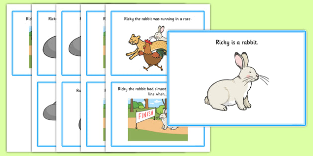 Initial r Story - speech sounds, phonology, phonological delay, phonological disorder, articulation, speech therapy, dyspraxia