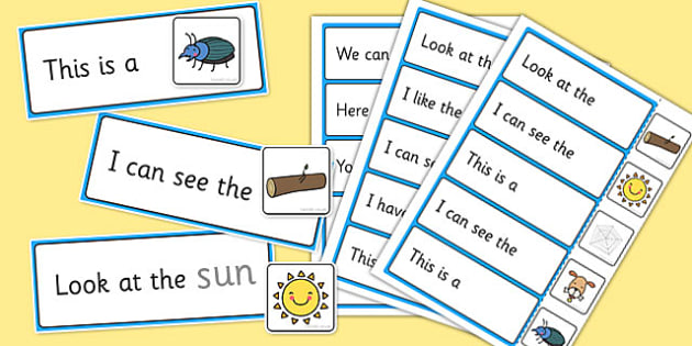 Complete the High Frequency Sentence Using CVC Words - cvc words