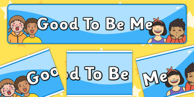 Good To Be Me Display Banner - display, banner, me, myself