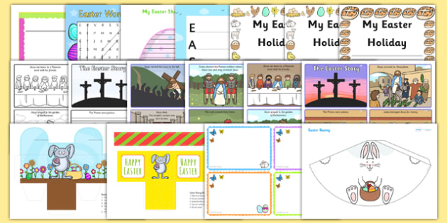 Easter Activity Pack KS2 - easter, religion, RE, key stage two