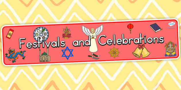 Australia Festivals and Cultural Celebrations Display Banner - festivals
