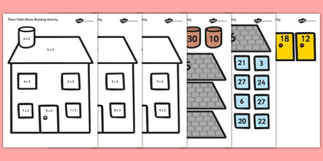 Ways To Learn Times Tables The Fun Way - 1000 ideas about times ...