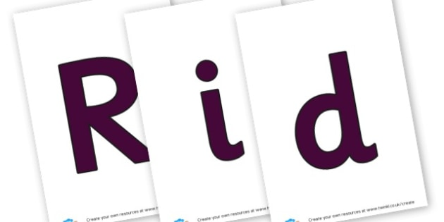 riddles - display lettering - Words & Vocab Primary Resources, literacy, keywords, cvc, phonemes