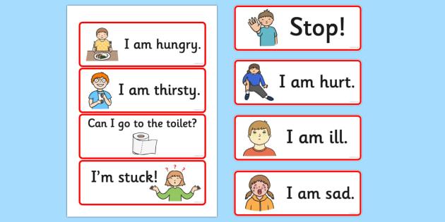 EAL Survival Vocabulary - languages, foreign language, vocab