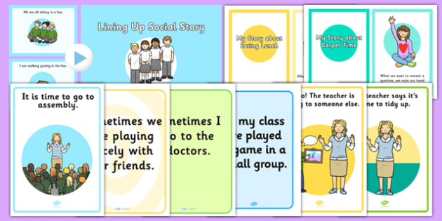 Teaching Assistant Social Stories Resource Pack - SEN, PSHe, social development, social skills, friends, friendships, relationships, emotional, intervention, TA, group, support, additional, needs, asd