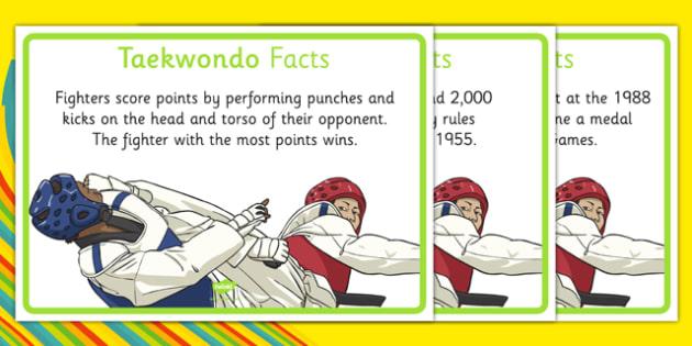 The Olympics Taekwondo Display Facts - the olympics, rio olympics, 2016 olympics, rio 2016, taekwondo, display facts